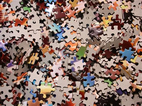 is a puzzle with a few missing pieces my is a puzzle volume 1 books jigsaw puzzle analogy strenghwillrise