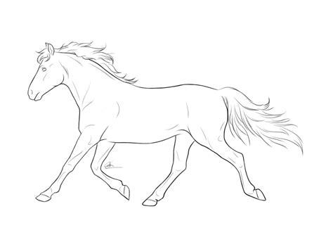 running horse pt v by chronically on deviantart