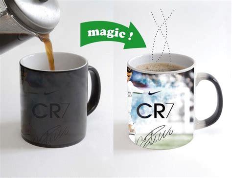 Mug Cristiano Ronaldo football mug cr7 cristiano ronaldo mugs cold sensitive color changing magic mugs heat