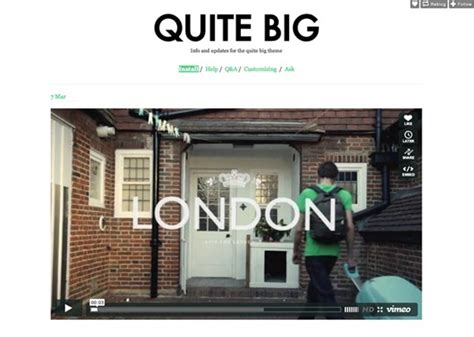 tumblr for quite big theme 70 best free tumblr themes for ultimate blogging experience