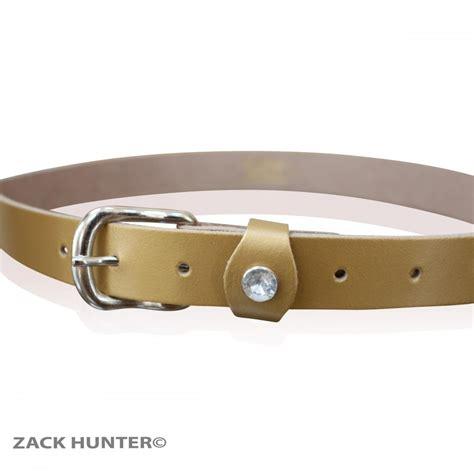 real leather belts womens 1 quot wide belt big diamante