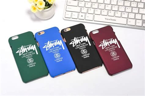 Iphone 6 6s Plus Stussy New York Los Angeles Tokyo Cover Casing buy wholesale stussy iphone from china stussy