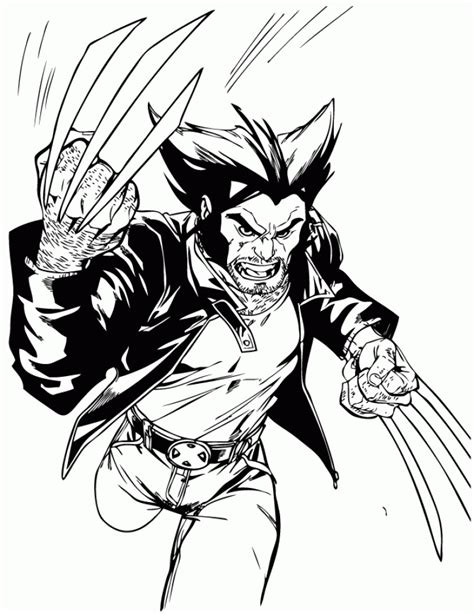 wolverine coloring pages online for free get this online wolverine coloring pages to print aycrt