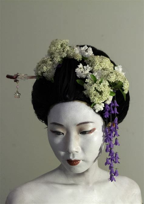 geisha hairstyles pin geisha hairstyle picture on