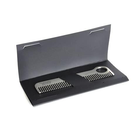 titanium comb beard comb titanium model no 1 moustache and beard