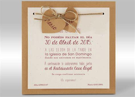 invitaciones de boda por 30 centimos invitaciones boda 20 centimos www kamalion mx troquelados personalizados invitaciones para una boda inspiraci 243 n e ideas originales telva