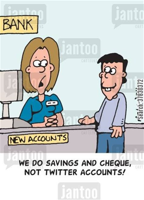 bank clerk cashiers humor from jantoo