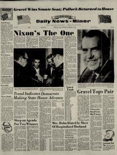 Fairbanks Daily News Miner Newspaper Archives Oct 2 1968 fairbanks daily news miner newspaper archives nov 6 1968