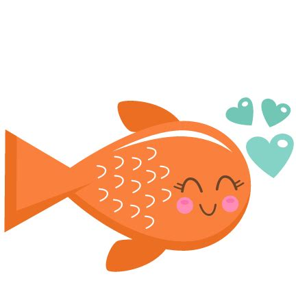 valentines day fish fish svg scrapbook cut file clipart files