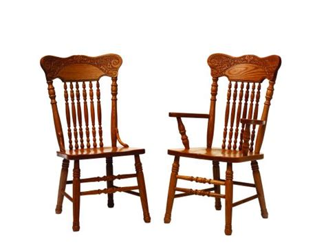 pressback amish dining room chairs amish dining room