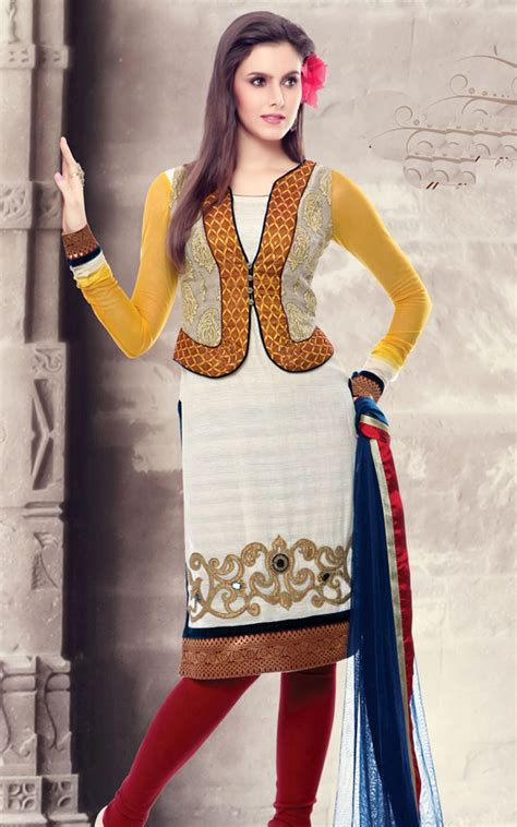 design of jacket salwar suit salwar suits neck designs 2014 for wedding photos pics 2015