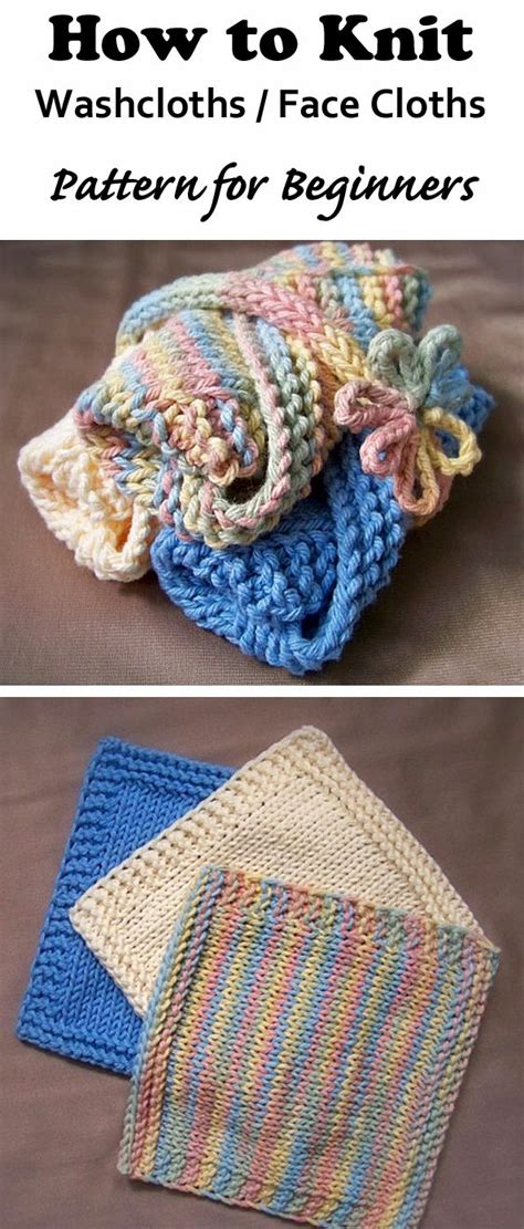 how to knit a washcloth 27 best images about knitting patterns crochet patterns