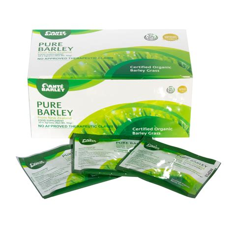 New Barley sante barley new zealand blend with stevia