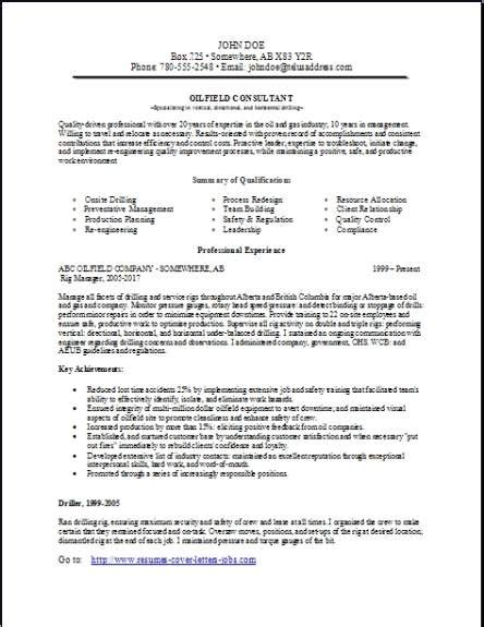 consulting resume occupational exles sles free