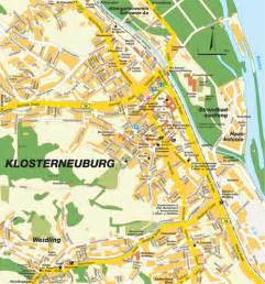 map klosterneuburg nieder 246 sterreich austria maps and