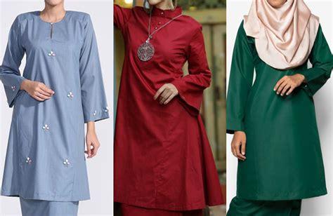apa beza antara pola fesyen baju kurung pesak 2017