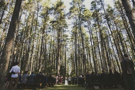 Wedding Ceremony Locations by Forest Wedding Ceremony Locations Polka Dot