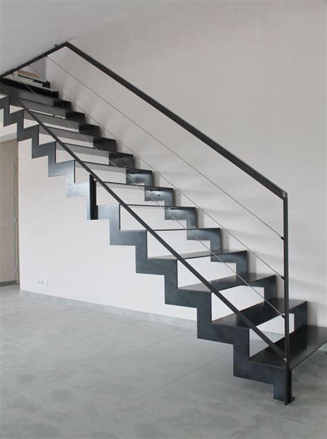 escalier metal 744 escalier style industriel 224 savenay