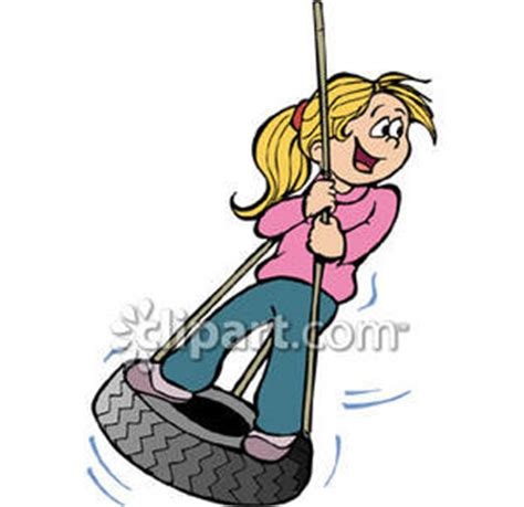 cartoon tire swing tire swing clipart clipart panda free clipart images