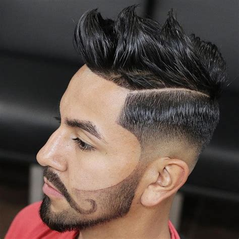 men taper on the sides with beard taper fade haircuts for men 56 cool tapered hairstyles