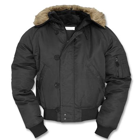Promo Bomber Jacket Premium Army Waterproof n2b basic bomber flight snorkel jacket ebay