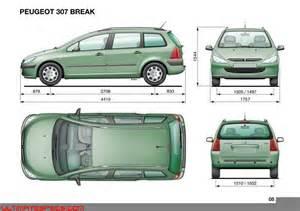 Peugeot 307 Dimensions Auto Marktplaats Peugeot 307 Sw Afmetingen