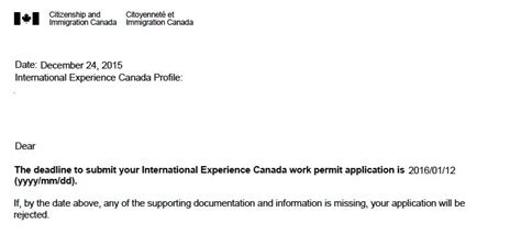 Work Experience Letter For Us Visa resume template international experience canada resume