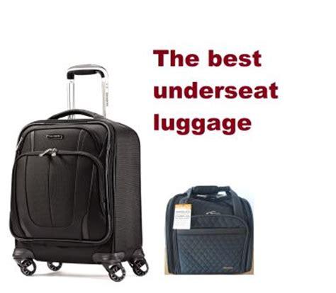 the best underseat luggage in 2018 | travel gear zone