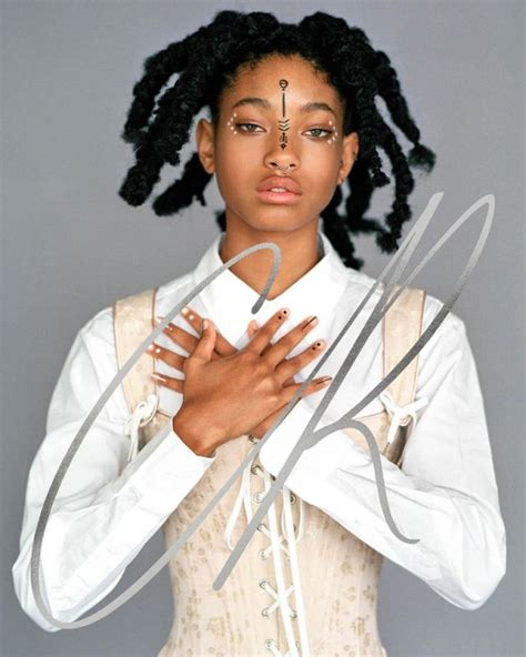 willow smith reveals for high fashion