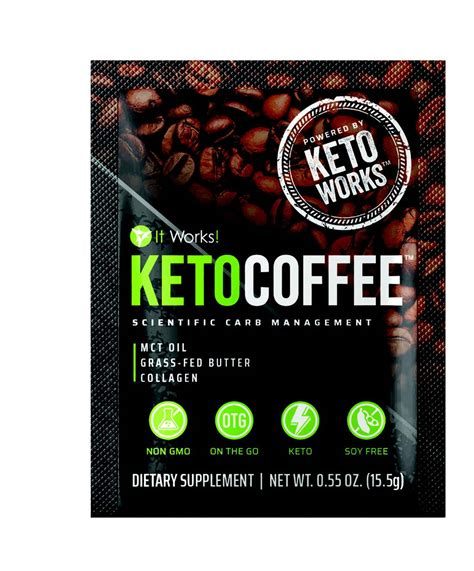 It Works it works keto coffee the instant keto coffee for rapid
