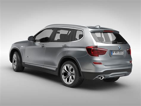bmw models 2015 bmw x3 f25 2015 3d model max obj 3ds fbx ma mb cgtrader