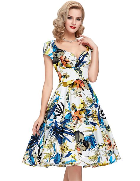 50s vintage dresses 2016 new style summer dress