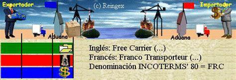 incoterm porto franco fca franco transportista comercio exterior incoterms 2010