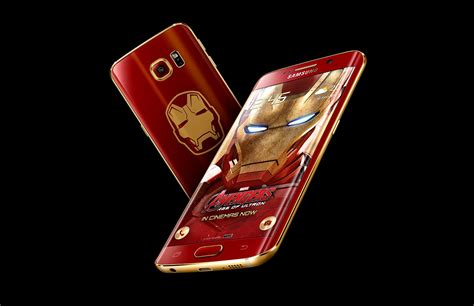 theme samsung s6 edge iron man the galaxy s6 edge iron man edition has landed check out