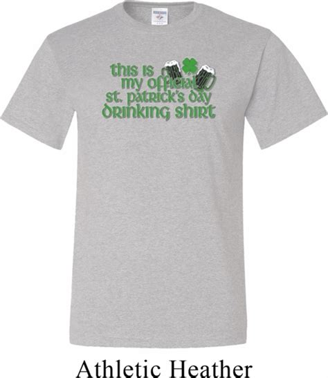 st s day shirt mens st patricks day shirt my official shirt
