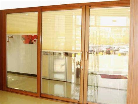 Patio door blinds sliding door shades and door window treatments