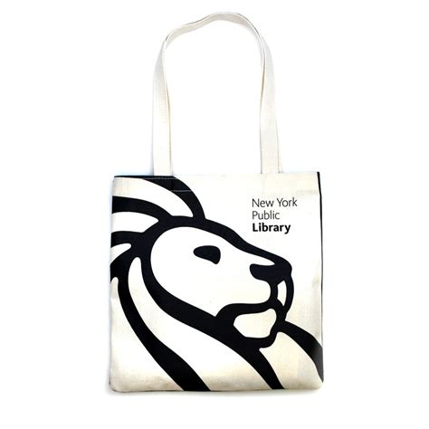 Fancy Desk Accessories Nypl Tote Bag The New York Public Library Shop