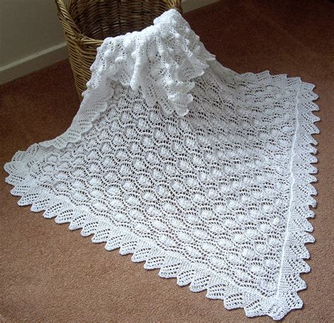free patterns beautiful crochet patterns and knitting beautiful baby shawl blanket hand knitted in a lace