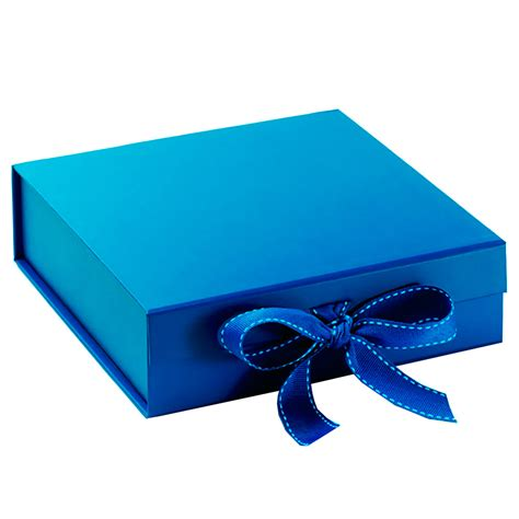 Blue Wedding Invitation Paper by Handmade Blue Cardboard Paper Wedding Invitation Box With