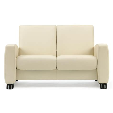 low loveseat stressless arion low back loveseat from 3 395 00 by