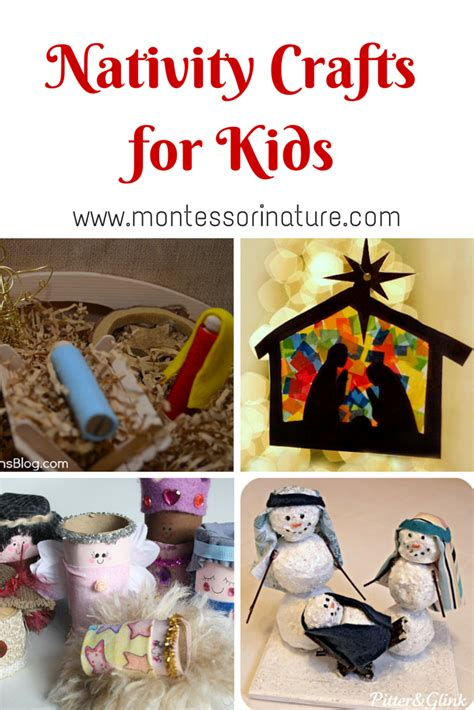 nativity crafts nativity crafts for montessori nature