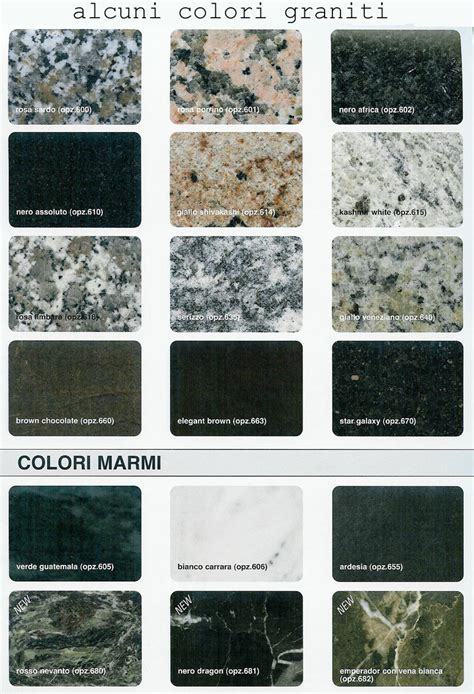 granito per cucina piani in marmo e granito per cucine