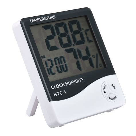 Thermometer Hygrometer Digital Htc1 Digital Lcd Thermometer Hygrometer Temperature Humidity