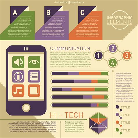 40 free infographic templates to hongkiat