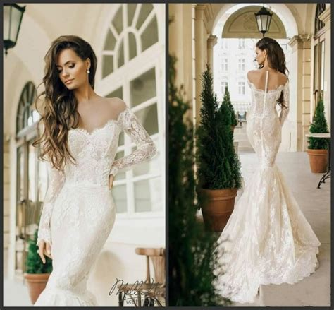 Milla 2016 Mermaid Wedding Dresses Lace Styles