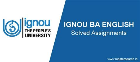 Ignou Mba Solved Assignment 2016 by Ignou Ba Solved Assignments 2017 Ignou Bege
