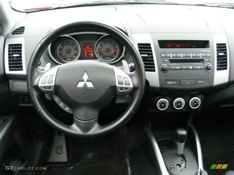 Mitsubishi Outlander 2007 Interior by 2007 Mitsubishi Outlander Xls Black Dashboard Photo