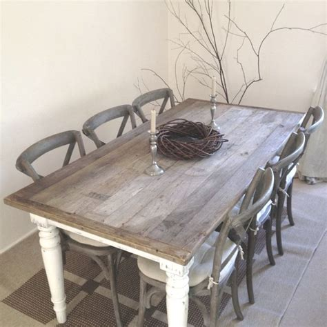 Grey Lime Washed Dining Tablegrey Lime Washed Dining Table by 1000 Ideas About White Wash Table On White