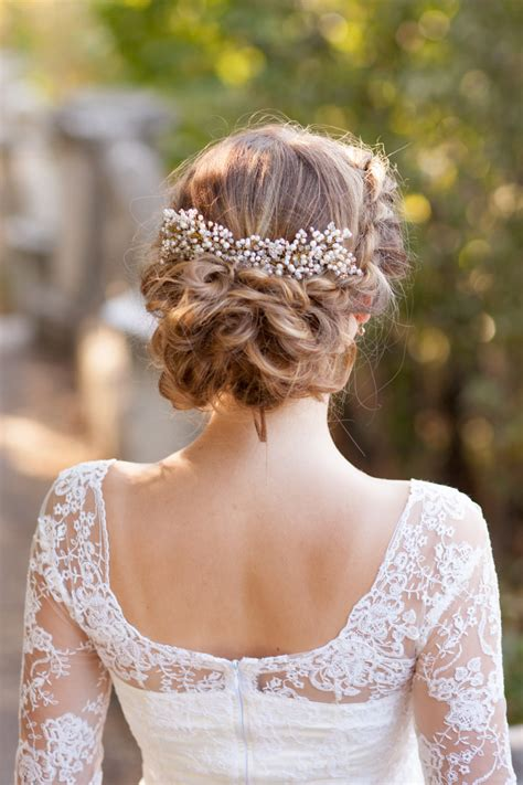 Wedding Hair With Headpiece by Wedding Hair Comb Pearl Bridal Comb Bridal Headpiece Wedding