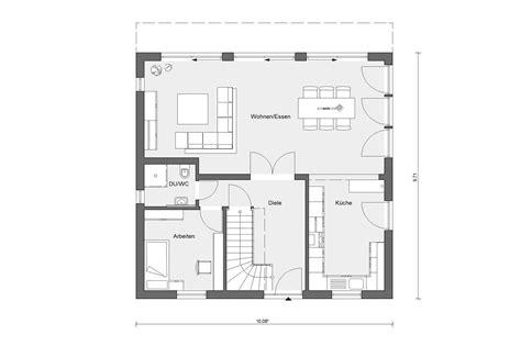 Grundriss Quadratisches Haus by Haus Quadratisch Schw 246 Rerhaus
